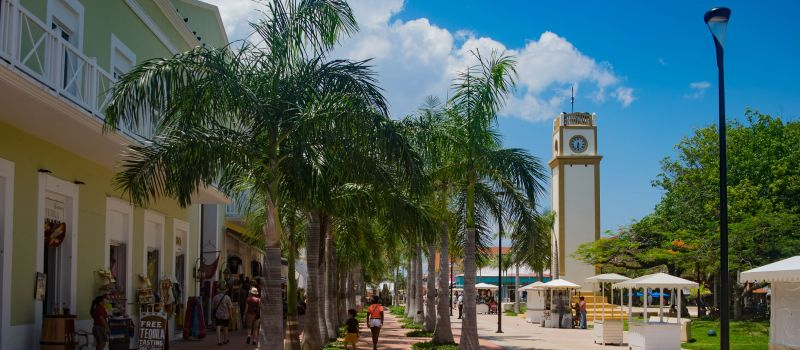 Shopping Park Plaza Cozumel